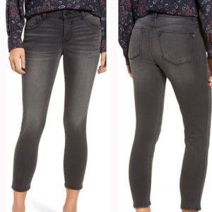 Wit and wisdom gray an solution ankle jeans